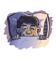 sleep tight vector image