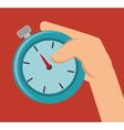 time watch efficiency design isolated vector image
