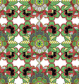 Decorative Floral Ornamental Seamless Pattern vector image