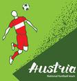 Austria 4 vector image