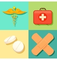 Healthcare and Medical Background vector image vector image