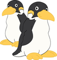 Penguin Friends vector image