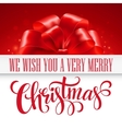 Elegant background with Christmas gift vector image
