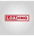 The loading icon preloader symbol Flat vector image