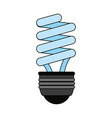 fluorescent lamp vector image