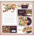 Retro disco concept design Corporate identity vector image