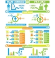 INFOGRAPHIC NUTRITION TOY vector image