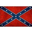 Confederate flag vector image