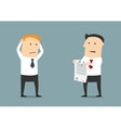 Termination of business contract or partnership vector image