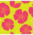 Floral seamless summer pattern vector image