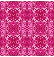 cute pink geometry ornament background vector image vector image