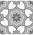 Geometric pattern of mandala vector image