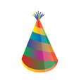 Birthday hat vector image