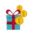 buying gifts vector image