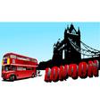 london image 01 vector image