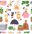 money save symbols capital monetary vector image