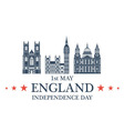 Independence Day England vector image