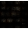 digital letters pattern vector image