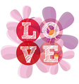 love card vector image