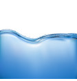 realistic water vector image