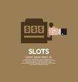 Slots vector image