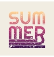 summer typography t-shirt graphics vector image