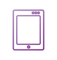 tablet device technology equipment design vector image