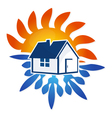 Air conditioning House Design vector image vector image