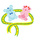 love bears vector image vector image
