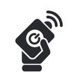remote icon vector image vector image