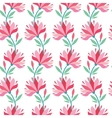 Stylish floral background vector image
