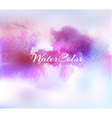Abstract Background with Watercolor banner vector image