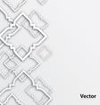 Thailand art design for background vector image