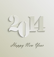 Abstract New Years wishes vector image vector image