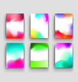 abstract watercolor stains background vector image