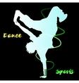 Dance Street dance vector image