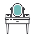 Furniture icon vector image