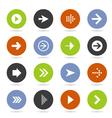 Arrow icon8 vector image