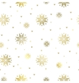 The snowflakes pattern vector image