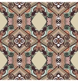 authentic seamless floral geometric pattern vector image