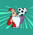 sports fan loves football vector image