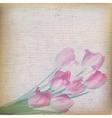 Vintage floral background EPS 10 vector image