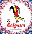 Belgium 3 vector image
