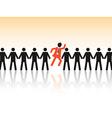 choose employee vector image