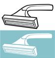 disposable shaving razor vector image