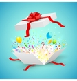 Celebration Surprise Gift vector image