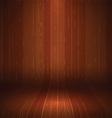 wooden display background 1710 vector image vector image
