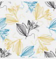 vanilla sketch pattern vector image