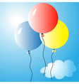 Air balloons 2 vector image