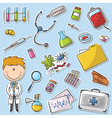 Doctor With Tools vector image